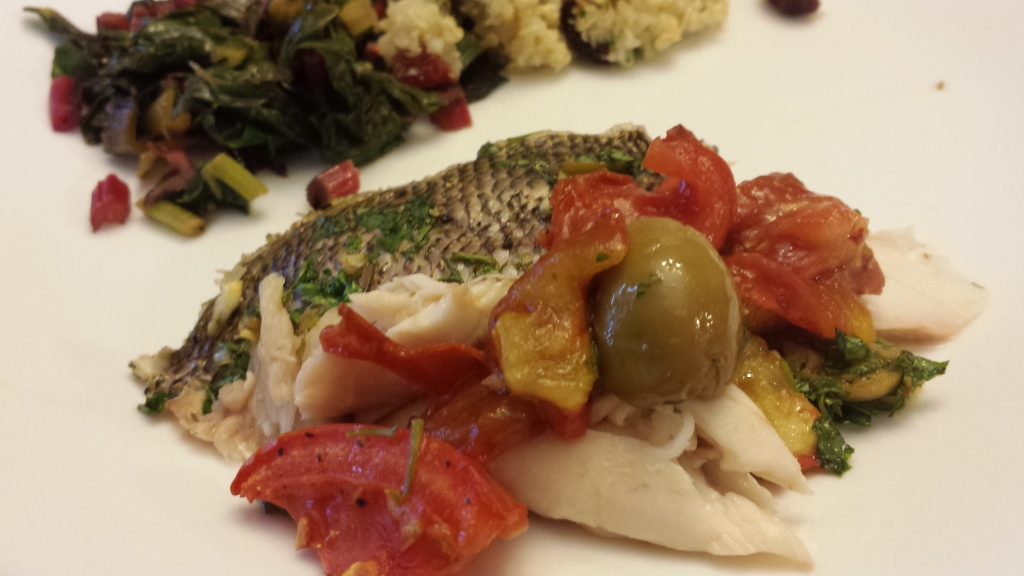 roasted yellowfin with tomatoes and olives_filet