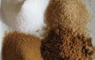 Sugar in various forms
