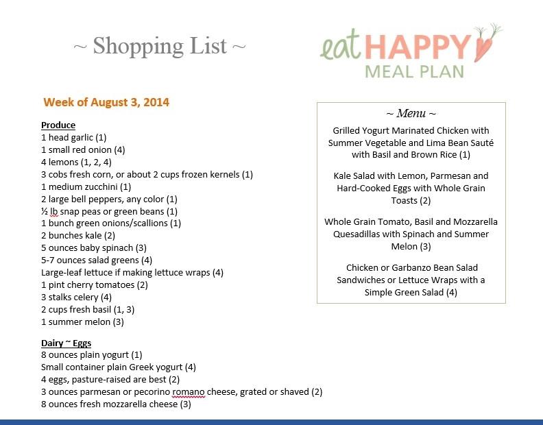 Aug 3 2013 EHMP menu